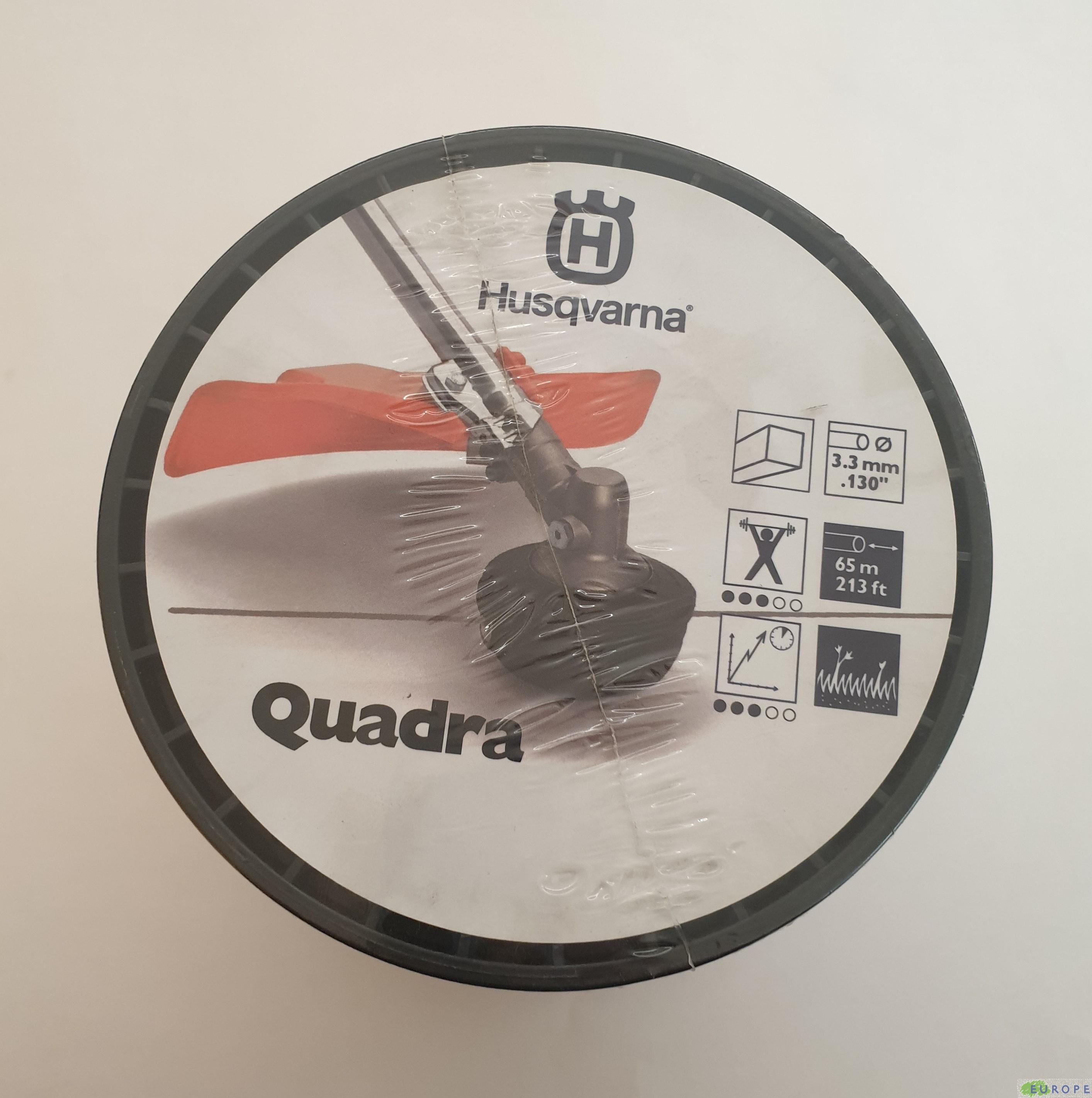 "FILO NYLON HUSQVARNA ""QUADRA"" 65M /3.3MM - F590846407"