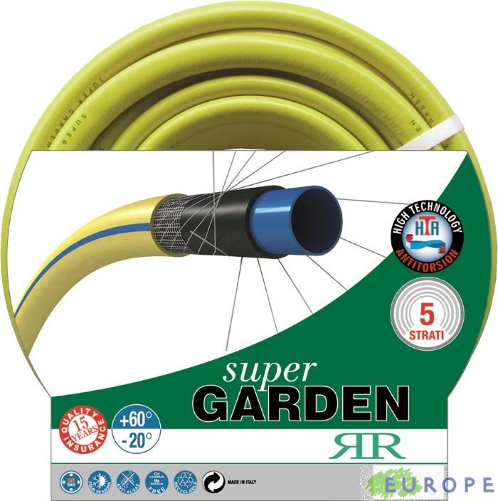 TUBO PER IRRIGAZIONE SUPER GARDEN - 25 METRI - DIAMETRO TUBO 19 mm - RR ITALIA PROFESSIONAL