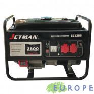 GENERATORE DI CORRENTE JETMAN GG3250 CON AVR  BENZINA OFFERTA SPECIALE!!