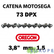 "CATENA PER MOTOSEGA - OREGON 73DPX 3/8"" - 1,5 mm"