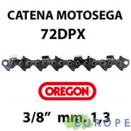 "CATENA PER MOTOSEGA - OREGON 72DPX 3/8"" - 1,3 mm"