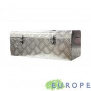 BOX ALLUMINIO EUROPE CASSETTA PORTA ATTREZZI 58X24,5X22 CM CON MANIGLIA
