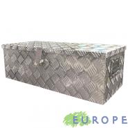 BOX ALLUMINIO EUROPE 76 CASSETTA PORTA ATTREZZI 76X33,5X25 CM CON SERRATURA