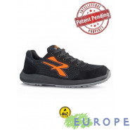 SCARPE ANTINFORTUNISTICHE U-POWER ATOS S1P ESD Red Up RU 20016