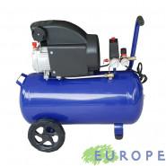 COMPRESSORE COASSIALE ARIA EUROPE 50lt MOTORE ELETTRICO 2HP INTERRUTTORE TERMICO