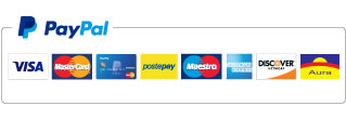 Carte che posso essere utilizzate con Paypal